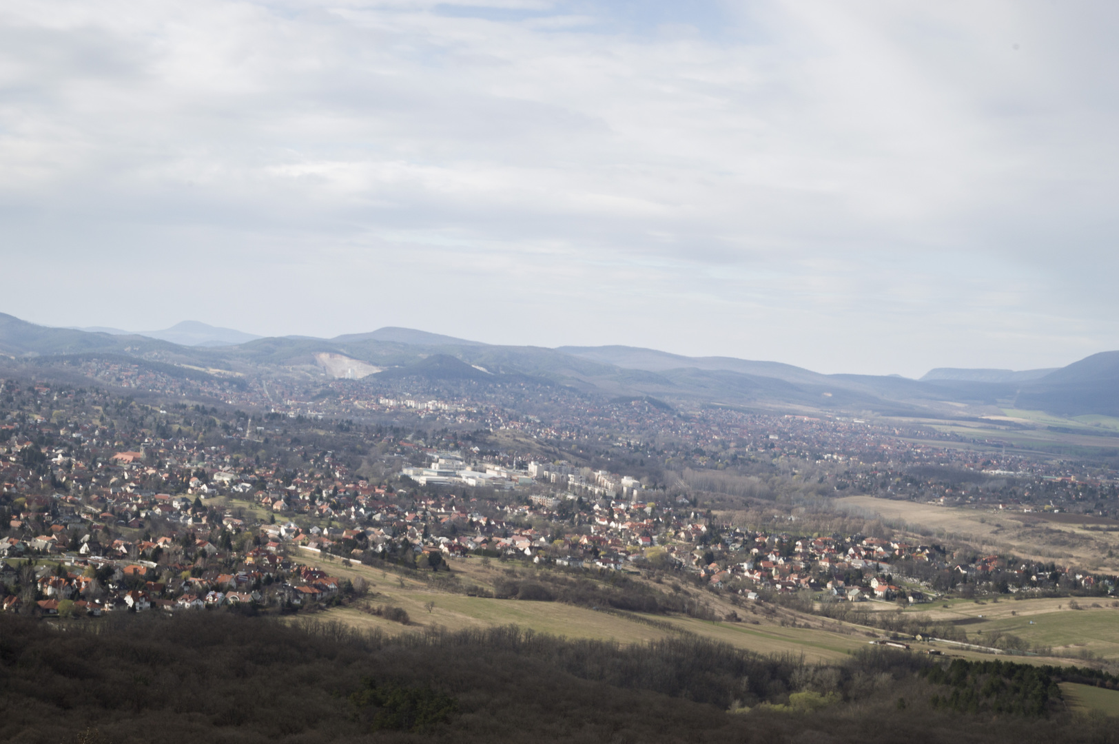 Scenic view from Kalvária Hegy